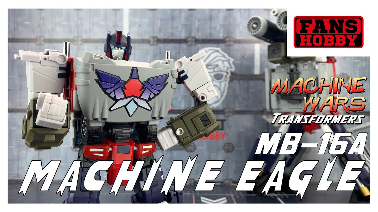 Fans Hobby MB-16A MACHINE EAGLE In-Hand Review