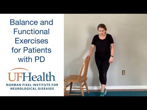 Balance and Functional Exercises for patients with Parkinson disease & other movement disorders