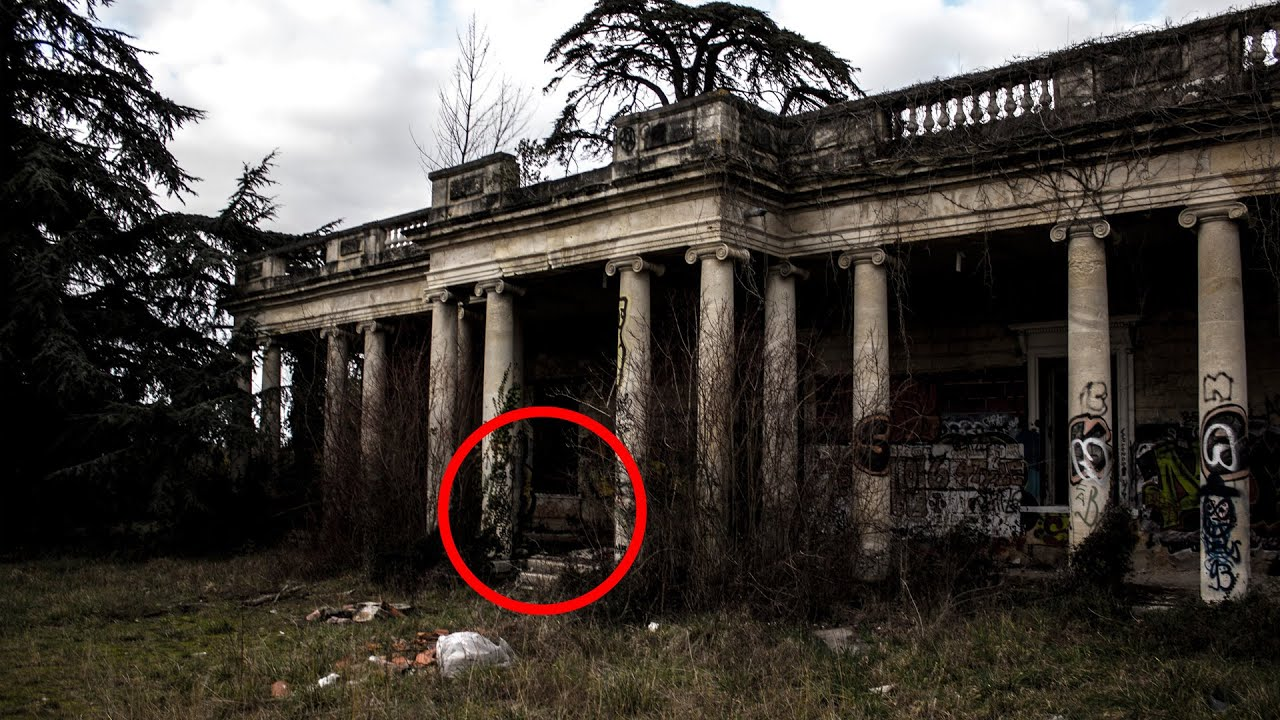 Real Ghost Encounter In A French Haunted House Very Scary