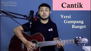Download lagu Chord Gampang (Cantik - Kahitna) by Arya Nara (Tutorial Gitar) Untuk Pemula