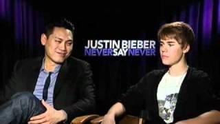 Justin Bieber & Jon M. Chu -- Justin Bieber: Never Say Never Interview