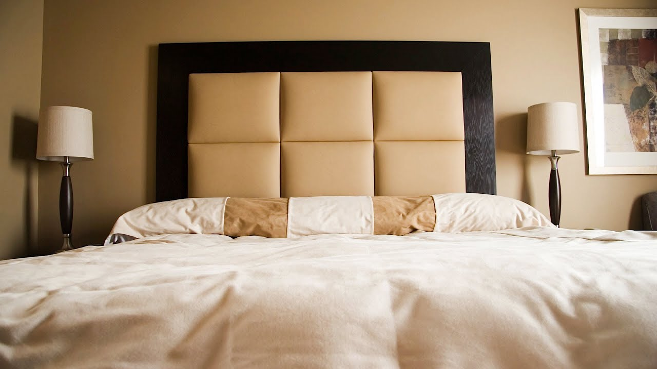 Make Your Own Headboard Headboard Ideas For Queensize Beds  Interior Design  Youtube