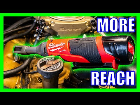 Milwaukee Extended Reach Ratchets [M12 FUEL]
