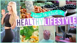Tips for Starting a Healthy Lifestyle!