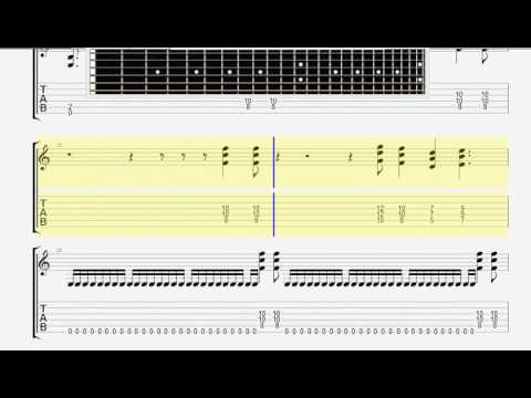 Behemoth   Chant For Eschaton 2000 GUITAR 2 TABLATURE