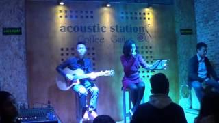Chiếc lá vô tình - Đồng Nhàn -  Acoustic Cover Live