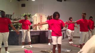 LWF praise dance- My God is Awesome, Charles Jenkins Remix featuring canton jones