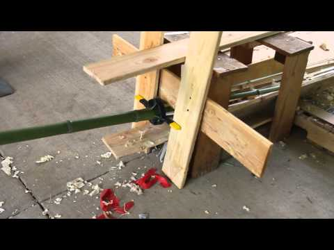 How To Split A Bamboo Cane