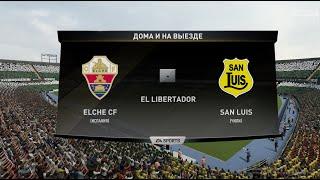 Футбол Elche CF Испания San Luis Чили Виртуальный Кубок Полуфинал 1 й матч FIFA