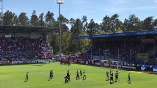 Hsv fans vs Sandhausen