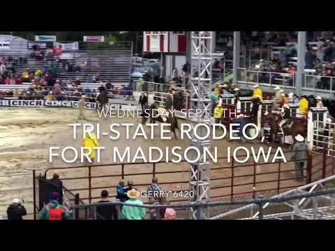 TRI-STATE RODEO FORT MADISON IOWA