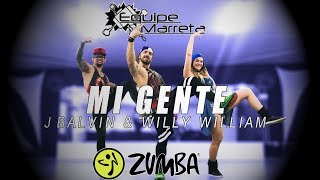 Download Mi Gente (Versão Zumba) - J Balvin Willy William - Coreografia Equipe Marreta  4K MP3 song and Music Video