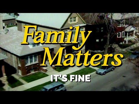 FAMILY MATTERS (Week 9) | It's Fine