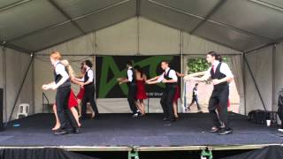 UNSW Latin Dance Society O-Week 2015 Salsa Team - Wednesday Performance