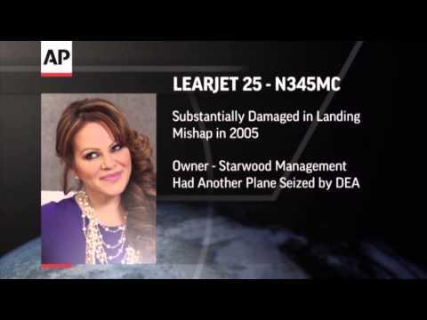 Mexico Tests DNA From Jenni Rivera Plane Crash