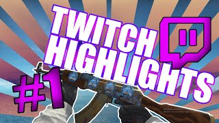 Twitch Highlights #1 [Best plays/Funny Moments]