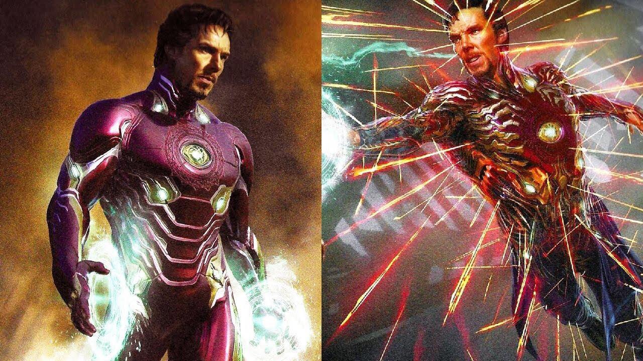 "Doctor Strange Wears The Iron Man Suit - ""Avengers: Infinity War ..."