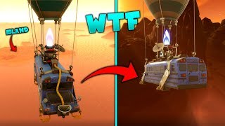 THE FORTNITE BATTLE BUS TOOK ME OUT OF THE MAP! *OMG* Out Of Map Glitch on Fortnite Battle Royale!