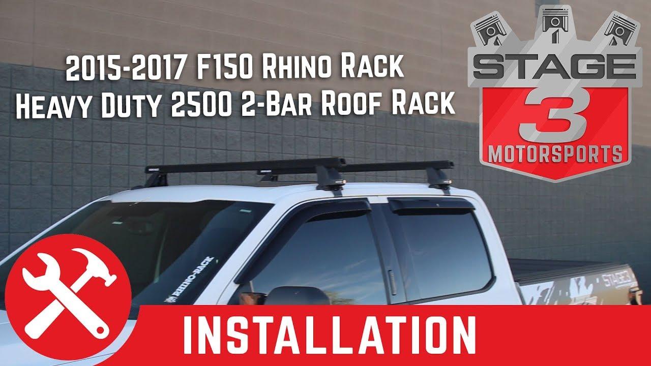2017 2021 f250 f350 supercrew rhino rack heavy duty 2500 2 bar roof rack kit silver jb0307