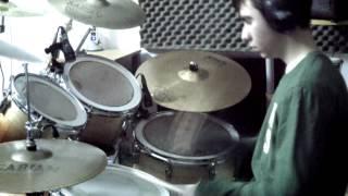 To zeimbekiko tis Evdokia (drum cover by Fivos)