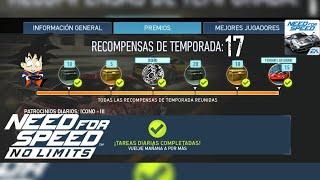 Need For Speed No Limits Android Recompensas Temporada 17 Ferrari LaFerrari BluePrints / Planos