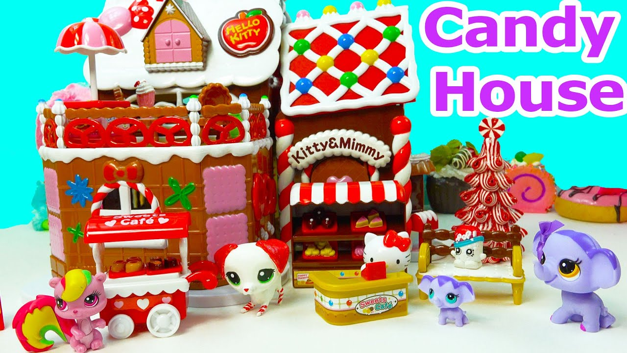Hello Kitty Holiday Sweet Candy Gingerbread House Bakery