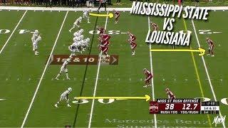 Film Study: Mississippi State vs Louisiana (Lafayette)