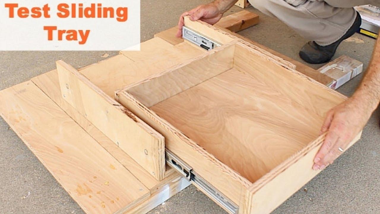 Kitchen Storage Solutions (Kitchen Sink Sliding Trays) - YouTube