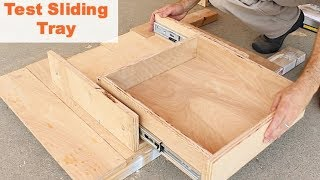 Kitchen Storage Solutions (kitchen Sink Sliding Trays) -- By Home Repair Tutor
