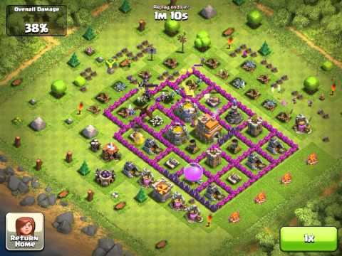 coc  destroy obstacles around your troops direction.