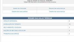 COMO VER AS AULAS TEORICAS AUTOESCOLAS (ESTADO  RJ) (SP LINK NA DESCRIÇÃO)
