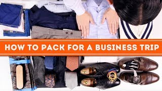 How To Pack A Suitcase Like A Pro For Travel - Pack ing Guide For Travelling Men