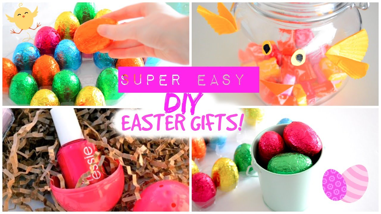 Easy affordable diy easter gifts last minute easter gift ideas last minute easter gift ideas youtube negle Images