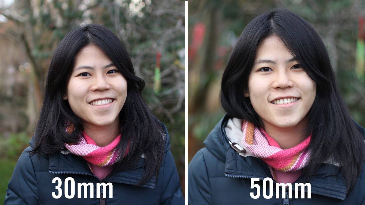 30mm vs 50mm Prime Lenses Comparison For Full Frame And APS-C ...