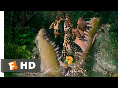 Madagascar (2005) - What a Wonderful World Scene (8/10) | Movieclips
