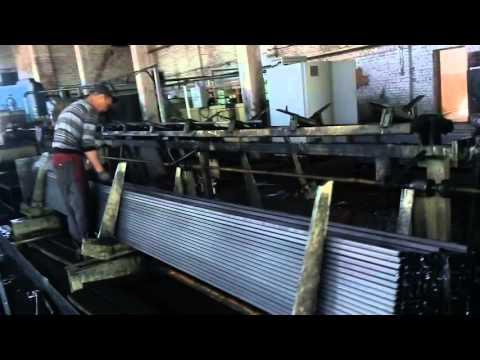 Производство проф трубы. Завод