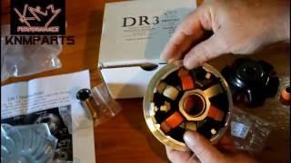 DR3 Variator Slider install and setup GY6 150cc