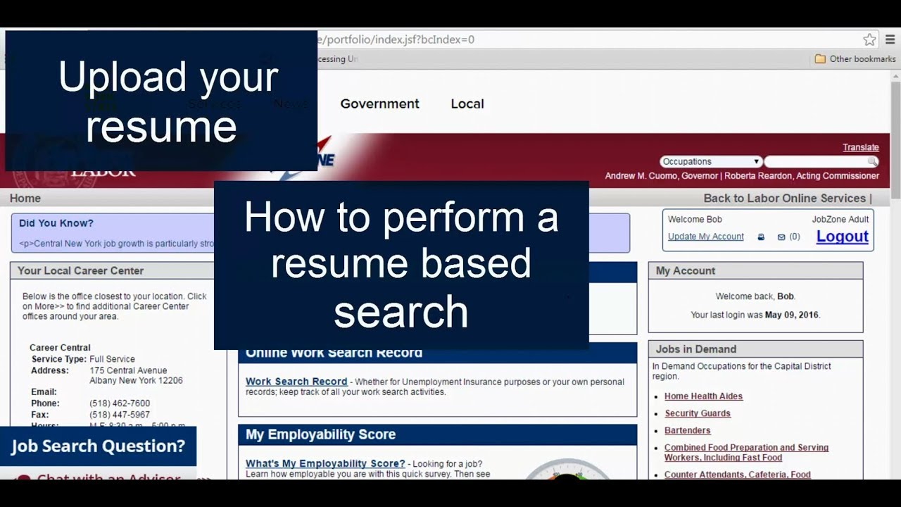 JobZone - the Career Tool for Adults - New York State Department of