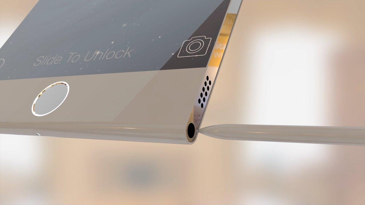 iPhone 6 Pro: 3D render video