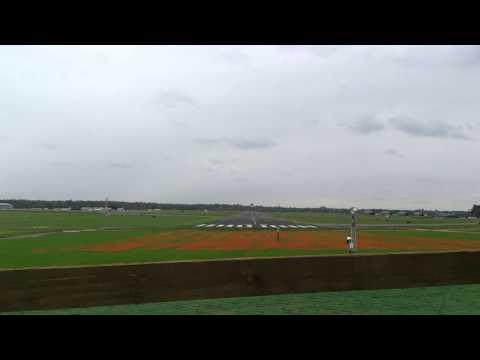 Typhoons take off at RAF northolt  sunday