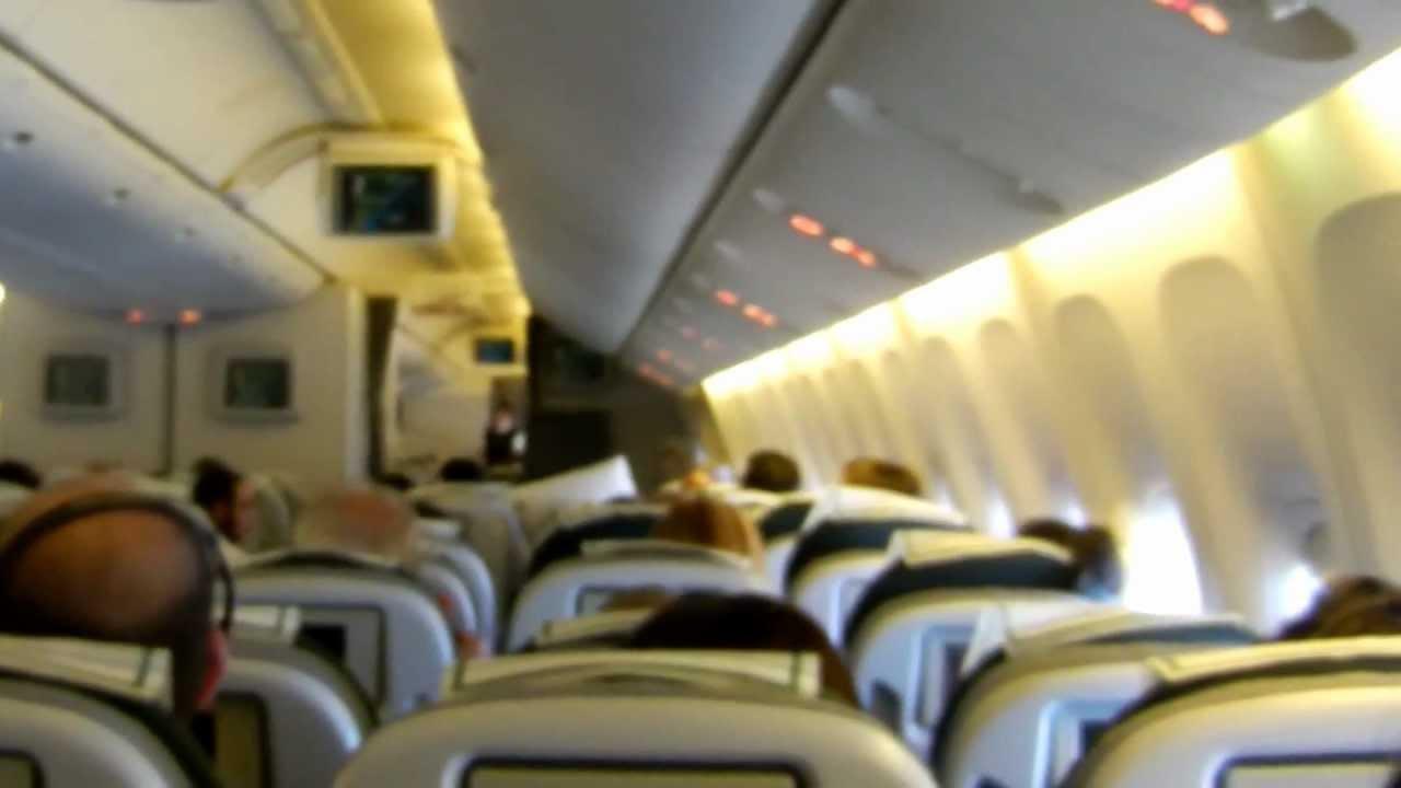 Buenos aires roma dentro boeing alitalia 777 200 youtube for Interieur forma buenos aires