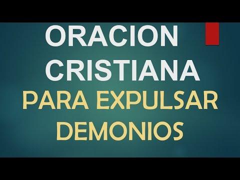 Oracion cristiana para expulsar demonios