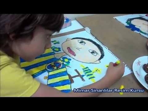 Çocuklar için Resim Dersleri 1 / Mimar Sinanlılar Resim Kursu