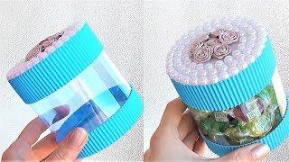 ИДЕЯ из пластиковых бутылок / Подарок на 8 марта своими руками