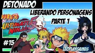Naruto S Ultimate Ninja 5 Detonado #15 PT-BR Liberando personagens Sasuke Parte1【Full HD 60 FPS】