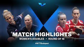 Vorobeva/Noskova vs Imre/Hartbrich | WTT Contender Budapest 2021 (R16)