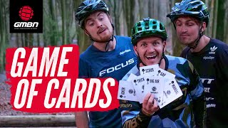 A Game Of Cards With Blake Samson, Olly Wilkins, And Brendan Fairclough | Bike Park Challenges