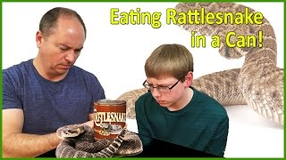 Eating Rattlesnake in a Can : Crude Brothers