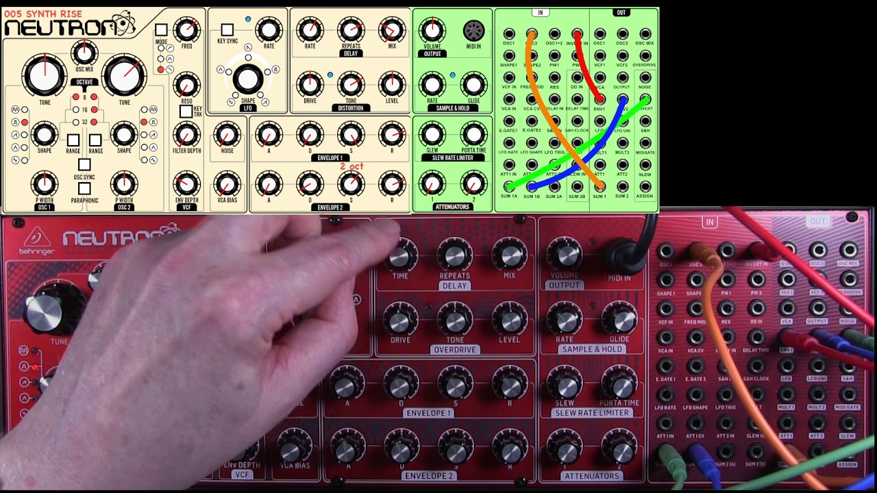 Download 005 Pitch Rise Behringer Neutron by George Hall