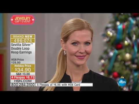 HSN | Sevilla Silver with Technibond Jewelry Gifts 11.30.2016 - 06 AM